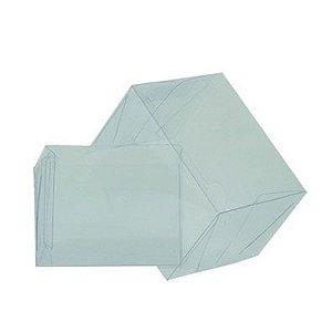 Caixa de Acetato Transparente Ref. 32B (8x8x5cm) - 20 unidades - CAC - Rizzo Confeitaria