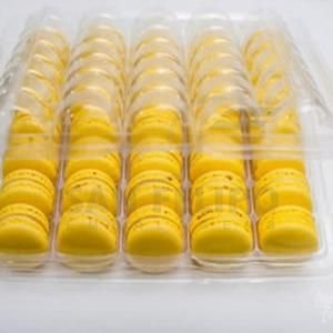 Blister para 35 Macarons Ref. BM35C - 27,5x22x5cm - 20 Unidades - San Felipo Rizzo Confeitaria