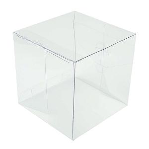Caixa Cubo Transparente K8 (10cm x 10cm x 10cm) 20 unidades Assk Rizzo Confeitaria