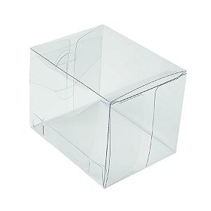 Caixa Transparente K7 (7cm x 7cm x 9cm) 20 unidades Assk Rizzo Confeitaria