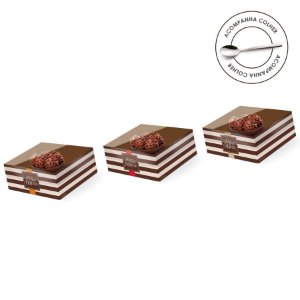 Caixa Meio Ovo de Colher 50g New Practice Hit - 6 unidades - 11,5cmx9cmx5,5cm - Cromus Páscoa - Rizzo Confeitaria