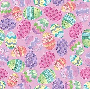 Folha para Embalar Ovos de Páscoa Blush 69x89cm - 05 unidades - Cromus Páscoa - Rizzo Confeitaria