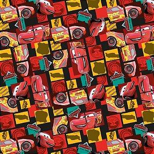 Folha para Embalar Ovos de Páscoa Cars McQueen 69x89cm - 05 unidades - Cromus Páscoa - Rizzo Confeitaria