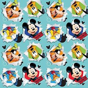 Folha para Embalar Ovos de Páscoa Mickey Friendship 69x89cm - 05 unidades - Cromus Páscoa - Rizzo Confeitaria