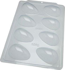 Forma de Acetato Ovo Liso 150g Semiprofissional Simples Cod 3624 BWB Rizzo Confeitaria
