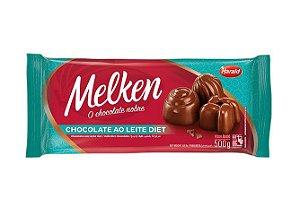 Chocolate Ao Leite Diet Barra Melken 500g - Harald Rizzo Confeitaria