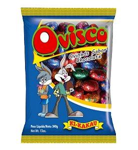Ovinhos de Chocolate Ovisco 340g 50 unidades - Ki-Kakau Rizzo Confeitaria