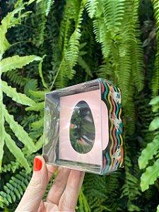 Caixa Ovo de Colher de 50g - Encanto Rosa Bebê Kids Cód 1486 - 10 unidades - Ideia Embalagens Pascoa Rizzo Confeitaria