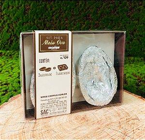 Kit Caixa Branca com 2 Casquinhas Chocolate 60g ao Leite Sicao - APENAS RETIRADA PESSOALMENTE - 1 unidade - Cromus Sicao Rizzo Confeitaria