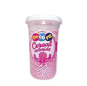 Copo de Cereal Colorido Rosa Bebê 160g - Cacau Foods - Rizzo Confeitaria