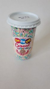 Copo de Cereal Colorido Bebê 160g - Cacau Foods - Rizzo Confeitaria