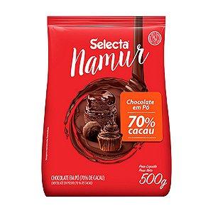 Chocolate em Pó 70% - 500g - Selecta Namur - Rizzo Confeitaria