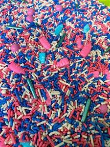 Fairy Sprinkles Especial Azul/Rosa 150 gr Rizzo Confeitaria