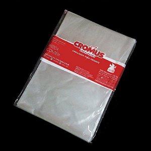 Saco Transparente 10x14cm - 100 unidades - Cromus - Rizzo Confeitaria