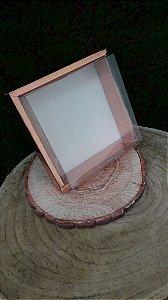 Caixa de PVC N13 Rose 17x17x7,8 - 5 un - Assk Rizzo Confeitaria