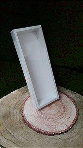 Caixa de PVC N12 Branca 30,5x10x3,7- 5 un - Assk Rizzo Confeitaria