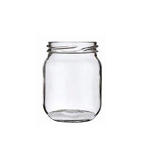 Pote de Vidro Conserva 250ml - 9,5x6cm - 01 unidade - Rizzo Confeitaria