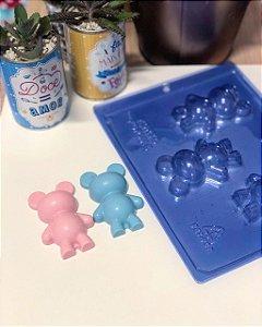 Forma de Acetato Ursinho Baby  Porto Formas Ref 63 Rizzo Confeitaria