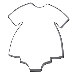 Cortador Body de Bebê 1G - Ref. 187 RR Cortadores Rizzo Confeitaria