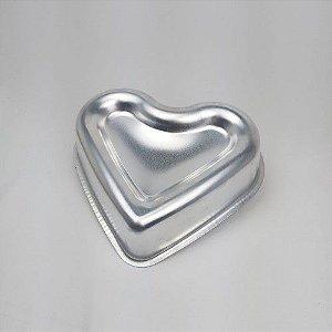 Forma Ballerine Coração 25 cm x 23 x 7 cm - Tamanho G - 1 Unidade - Caparroz - Rizzo Confeitaria