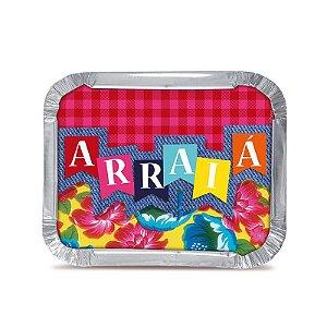 Marmitinha Arraial M - 8,5 cm x 6,5 cm - Festa Junina - 12 unidades - Cromus - Rizzo