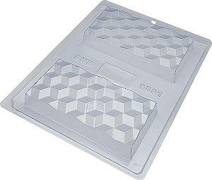 Forma Especial Tablete 3D Cód. 9891 BWB Rizzo Confeitaria