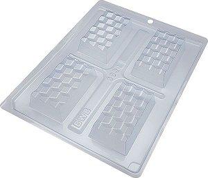 Forma Especial Mini Tablete 3D Cód. 9904 BWB Rizzo Confeitaria