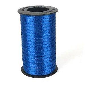 Fita de Cetim Carretel Progresso 4mm nº00 - 100m Cor 276 Azul Pavão - 01 unidade - Rizzo Embalagens