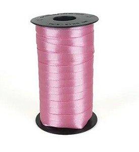 Fita de Cetim Carretel Progresso 6mm nº01 - 100m Cor 240 Rosa Escuro - 01 unidade - Rizzo Embalagens