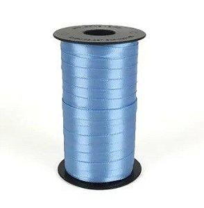 Fita de Cetim Carretel Progresso 6mm nº01 - 100m Cor 246 Azul Celeste - 01 unidade - Rizzo Embalagens