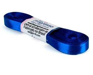 Fita de Cetim Progresso 10mm nº2 - 10m Cor 276 Azul Pavão - 01 unidade - Rizzo Embalagens