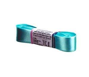 Fita de Cetim Progresso 22mm nº5 - 10m Cor 247 Azul Tiffany - 01 unidade - Rizzo Embalagens