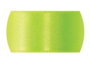 Fita de Cetim Progresso 7mm nº1 - 10m Cor 280 Verde Cítrico - 01 unidade