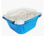 Mini Marmitinha c/tampa Azul 12 unidades Artlille - Rizzo Confeitaria