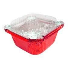 Mini Marmitinha c/tampa Vermelha 12 unidades Artlille - Rizzo Confeitaria