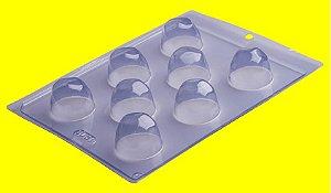 Forma de Acetato Trufa Marcada - Cód: 506 - Porto - Rizzo Confeitaria
