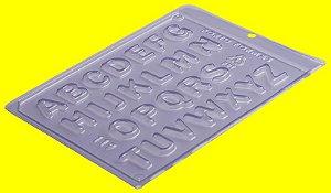 Forma de Acetato Alfabeto - Cód.119 - Porto - Rizzo Confeitaria