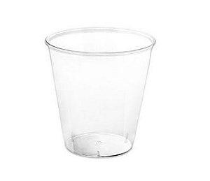 Copinho Acrílico para Doces 40ml Cristal Redondo - 10 unidades - Plastilania Rizzo Confeitaria