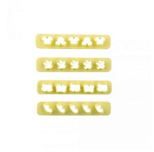 Kit Réguas Miniaturas III com 4 un. - Blue Star - Rizzo Confeitaria