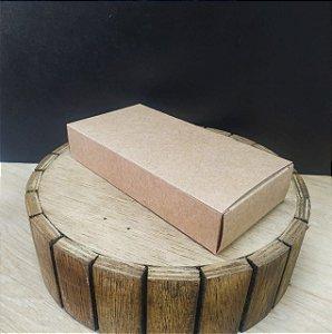 Caixa para Tablete de Chocolate - N°3- kraft - Rizzo Confeitaria
