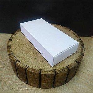 Caixa para Tablete de Chocolate - N°2- Branco - Rizzo Confeitaria