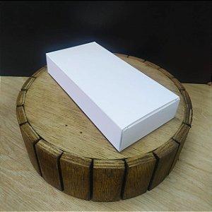 Caixa para Tablete de Chocolate - N°3- Branco - Rizzo Confeitaria