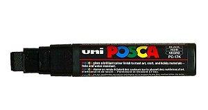 Caneta Posca PC 17K 15mm Extra Grossa Black_Preto - 01 unidade - Uni Posca - Rizzo Embalagens