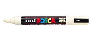 Caneta Posca PC-5M 2,5mm Ivory_Marfim - 01 unidade - Uni Posca - Rizzo Embalagens