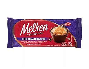 Chocolate Blend Barra - Melken - 1,050kg - Rizzo Confeitaria