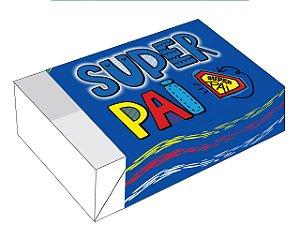 Caixa Divertida Super Pai Ref. 1788 - 6 doces com 10 un. - Erika Melkot - Rizzo Confeitaria