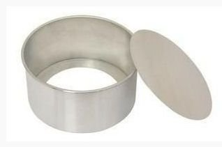 Forma Redonda Fundo Falso - 15x10cm - Ref.0955 - Caparroz - Rizzo Confeitaria