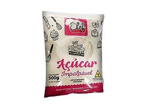 Açúcar Impalpável - 500g - Iceberg - Rizzo Confeitaria