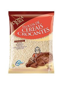 Flocos de Cereais Crocantes - 400g - Dona Jura - Rizzo Confeitaria