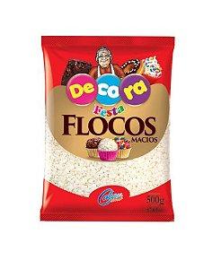 Flocos Macios Branco - 500g - Cacau Foods - Rizzo Confeitaria